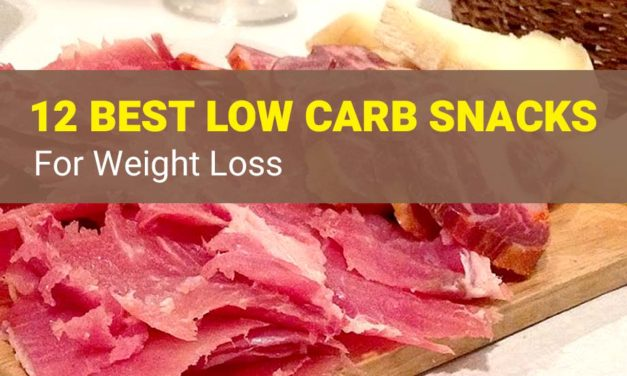 12 Best Low Carb Snacks on The Go for Weight Loss
