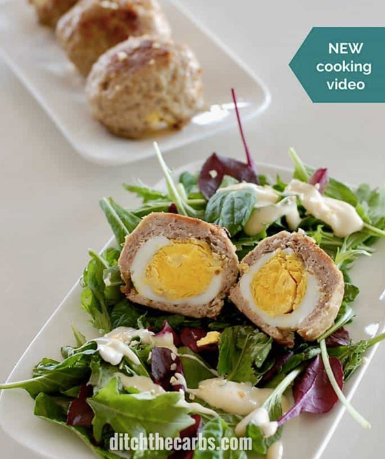 Low Carb Snacks - Paleo Scotch Eggs