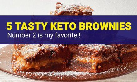5 Tasty Keto Brownies – Easy Low Carb Brownies