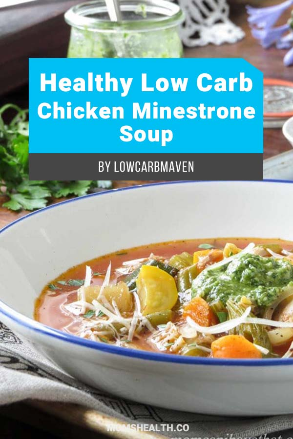 Healthy Low Carb Chicken Minestrone Soup. Try these Keto soup recipes – which one is your favorite? Keto diet doesn't mean only eating meat and eggs, Ketogenic friendly soup recipes will match your Keto lunch or Keto dinner. Add these low carb soup recipes to your Keto meal plan!