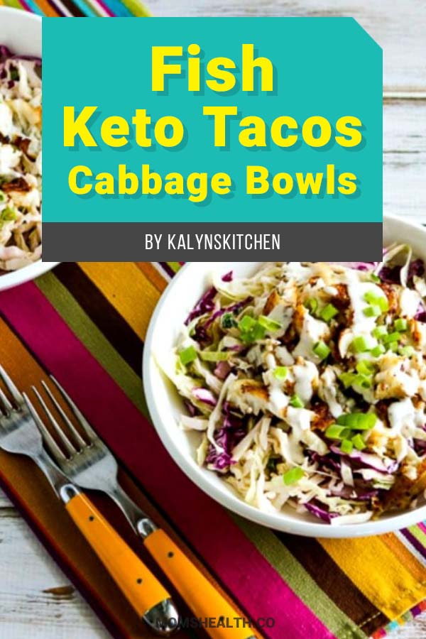 Low-Carb Fish Keto Tacos Cabbage Bowls - 10 Easy Keto Lunch Ideas on the Go – Keto Lunch for Work
