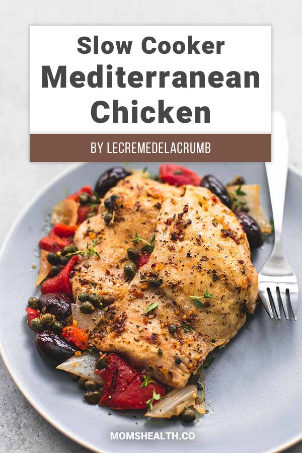 Slow Cooker Mediterranean Chicken - The benefit of a crockpot or a slow cooker is that the moisture and natural juices of the food stay inside. I cook anything from my Keto Crockpot recipes collection - and the sauce comes out together with the meal. The ketogenic diet can be tasty and easy to keep!