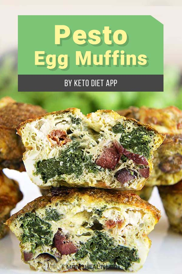 Pesto Egg Muffins - 10 Easy Keto Lunch Ideas on the Go – Keto Lunch for Work