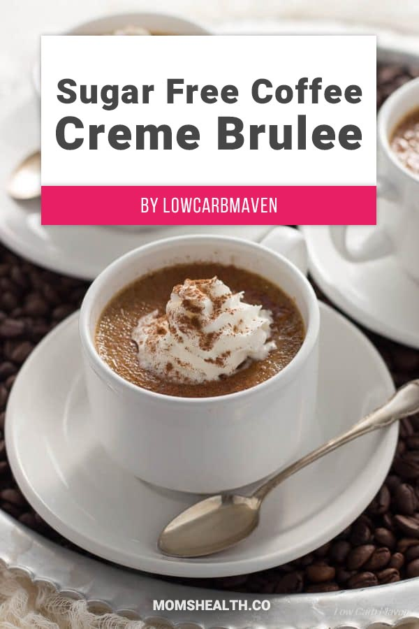 Low Carb Sugar-Free Coffee Creme Brulee - When you are on a Keto diet, one of the trickiest parts is choosing the right drinks that are low in carbs. Here is a collection of proven Keto drinks that help you stay in Ketosis and make your Ketogenic diet fun and easy!