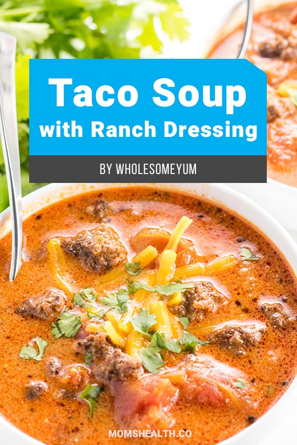 Easy Low Carb Taco Soup with Ranch Dressing. Try these Keto soup recipes – which one is your favorite? Keto diet doesn't mean only eating meat and eggs, Ketogenic friendly soup recipes will match your Keto lunch or Keto dinner. Add these low carb soup recipes to your Keto meal plan!