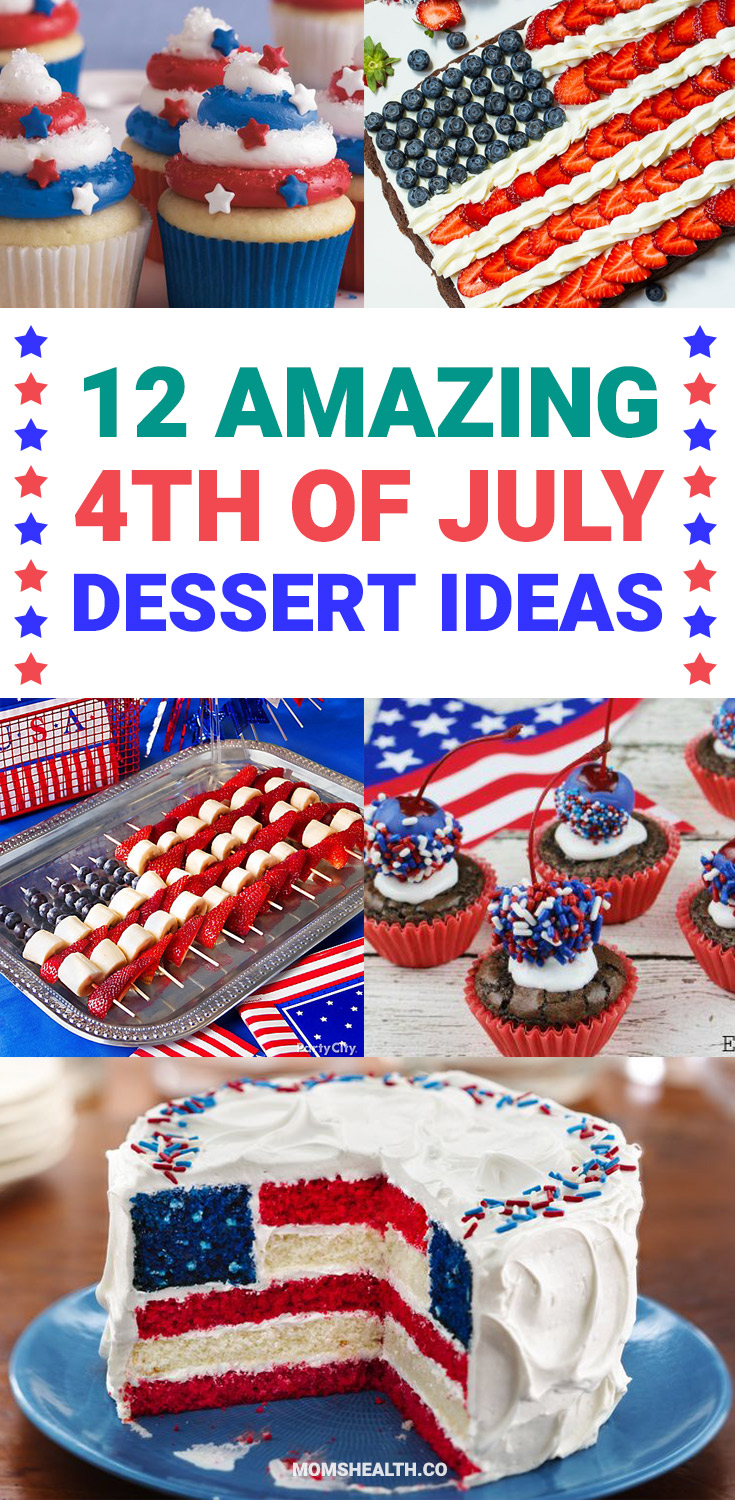 Are you looking for some ideas for your 4th of July desserts? I made my list of the best Patriotic desserts for the Independence day party. Enjoy these 4th of July desserts recipes and save your favorite to your 4th of July Food board on Pinterest to check the recipe later!