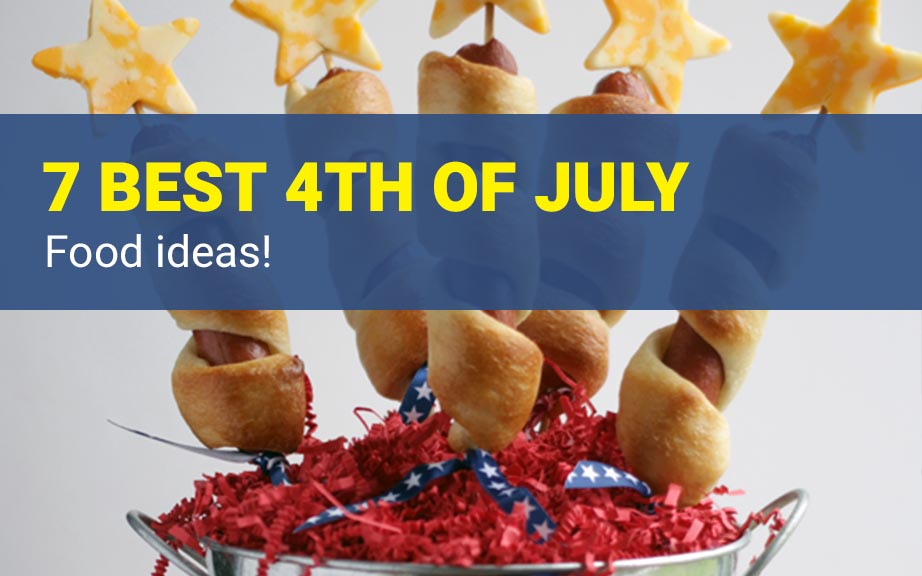 Are you looking for some ideas for your 4th of July food recipes? I made my list of the best Patriotic recipes for the Independence day party. Enjoy these 4th of July food ideas and save your favorite to your 4th of July Food board on Pinterest to check the recipe later!