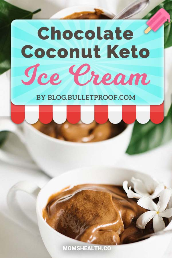Chocolate Coconut Keto Ice Cream - Ketogenic diet might be strict with carbs, but it's definitely not boring! This summer you have to try these refreshing Keto ice cream recipes - I found one for every taste and sweet tooth. You can stay in Ketosis and enjoy these easy and fast low carb ice cream recipes!