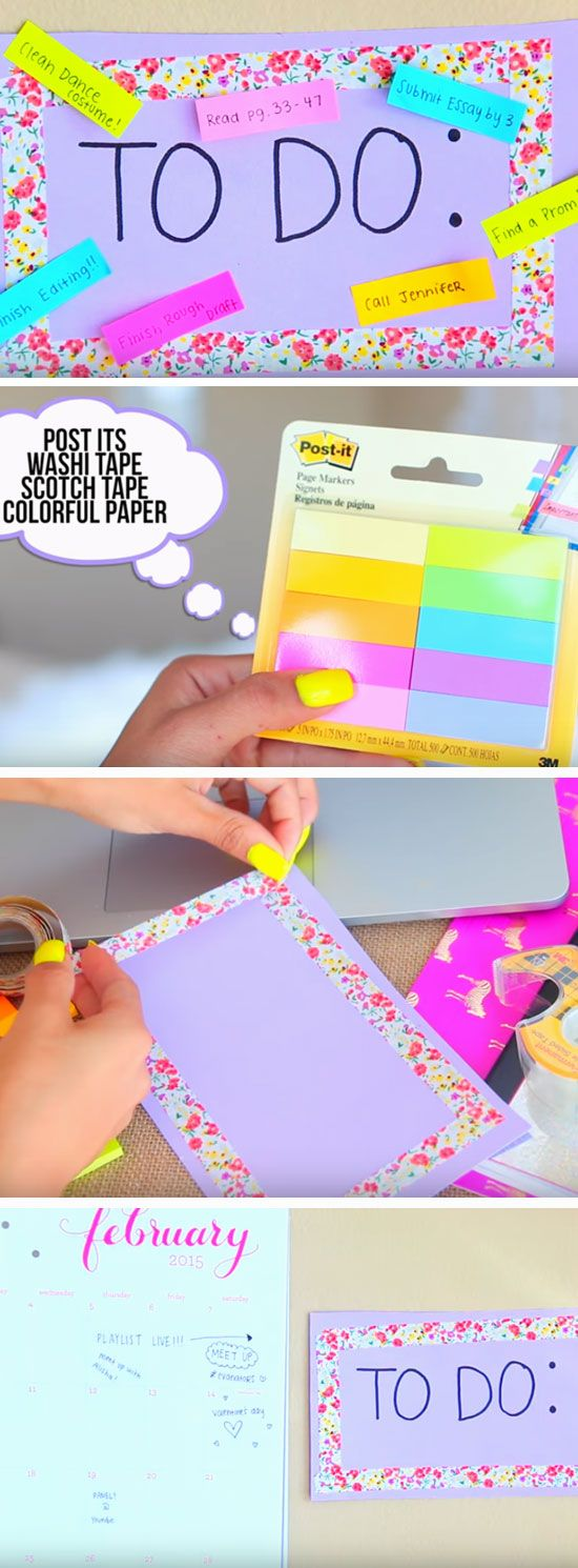 Best Back To School Diy Ideas Crafts Hacks For Kids Organization