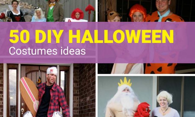 50 DIY Halloween Costume Ideas for a Halloween Party