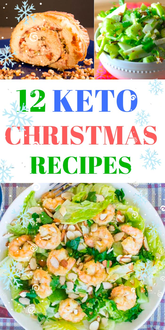 Keto dreams come true! We present you a collection of wonderful Keto Christmas recipes, which will allow you to combine business with pleasure at the Christmas table. Get awesome Keto Christmas dinner ideas, best desserts, appetizers and other Keto Christmas treats for your family. #keto #ketogenic #ketodiet #recipes #holiday #christmas #lowcarb #diet #xmas