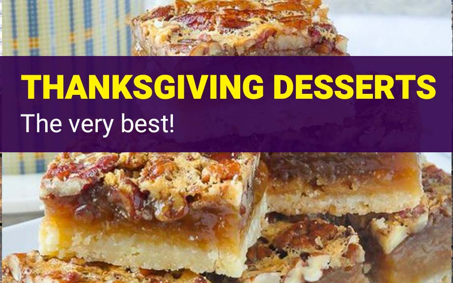 The Very Best Thanksgiving Desserts Easy Healthy
