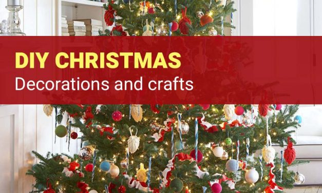 DIY Christmas Decorations and Crafts – 10 Best Xmas Ideas for The Home [2019]