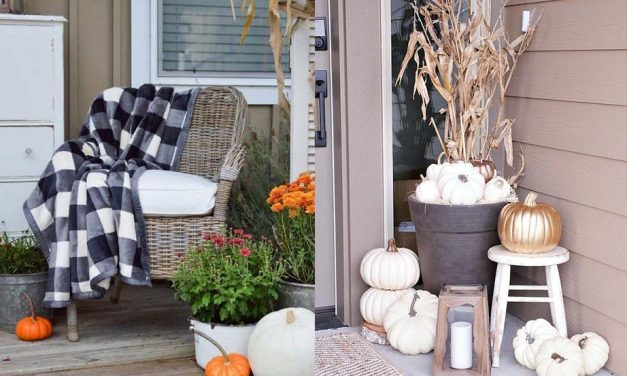 11 Fall Porch Decor Ideas That Everyone Can Afford