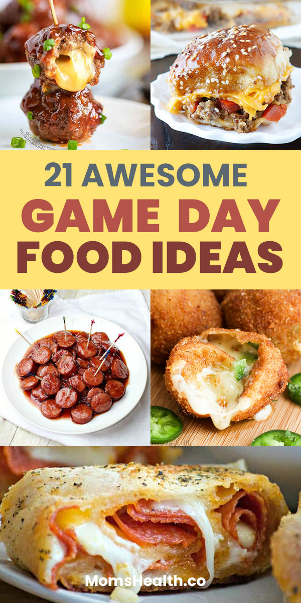 Easy Game Day Food Ideas - Football Party Food Recipes and Appetizers. Big Game Food! Looking for the best Game Day food ideas? Get the best collection of easy and healthy recipes of appetizers for a crowd from dips to meatballs. The BEST football party recipes right here! Super Bowl party food ideas. #football #gameday #gamedayfood #partyfood #food #superbowl #football