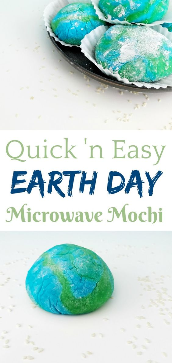 Easy Microwave Mochi Recipe for Earth Day
