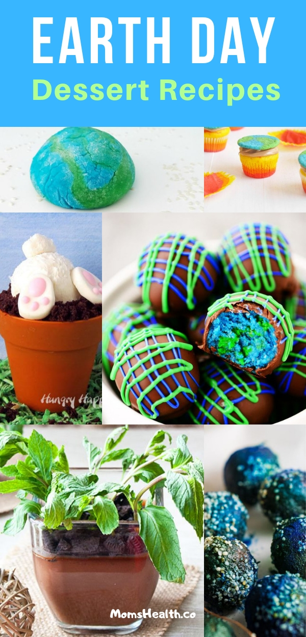Earth Day Food Ideas - 9 Best Snacks and Desserts for Kids and Party