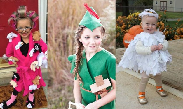 Halloween Costumes for Kids – Scary and Funny DIY Halloween Ideas