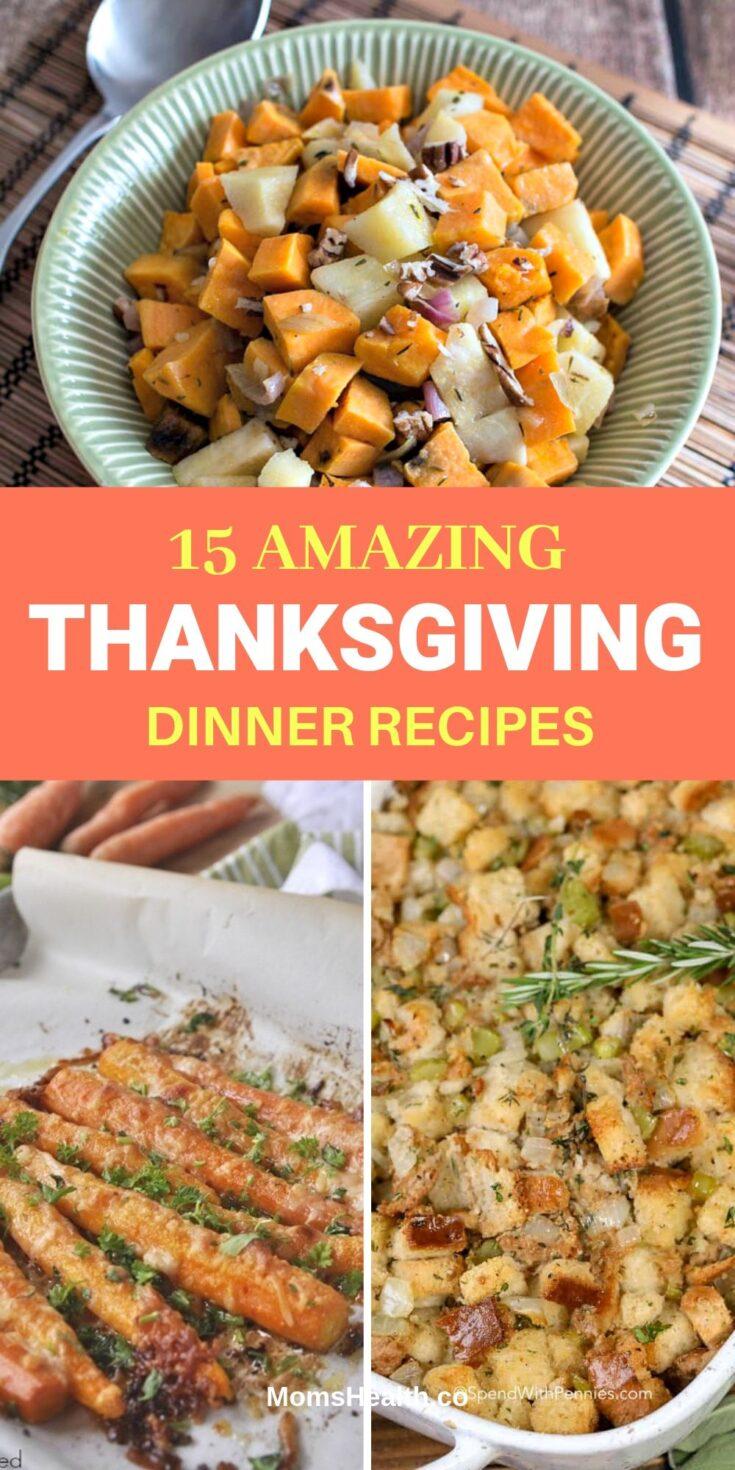 15 Thanksgiving Dinner Recipes on Pinterest - Basic Thanksgiving Menu Ideas