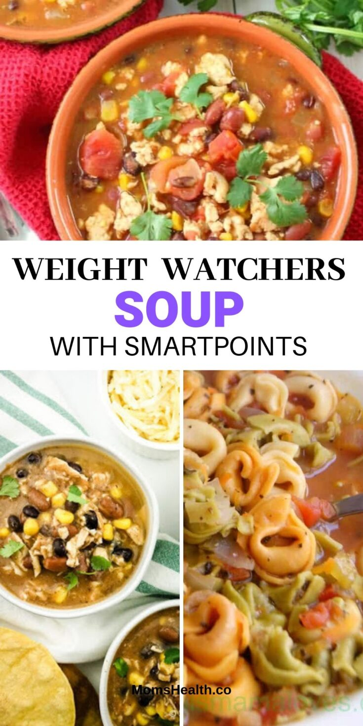 Weight Watchers Soup Chicken & Vegetables - Freestyle Soup Recipes