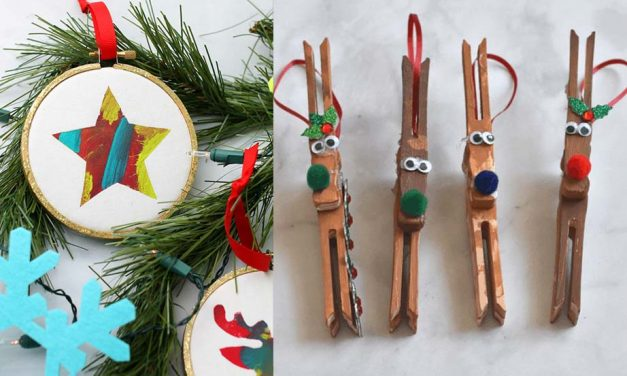 15 Easy Christmas Activities for Toddlers – Art Projects and Crafts