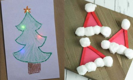 15 Easy DIY Christmas Crafts for Kids and Preschoolers to Make