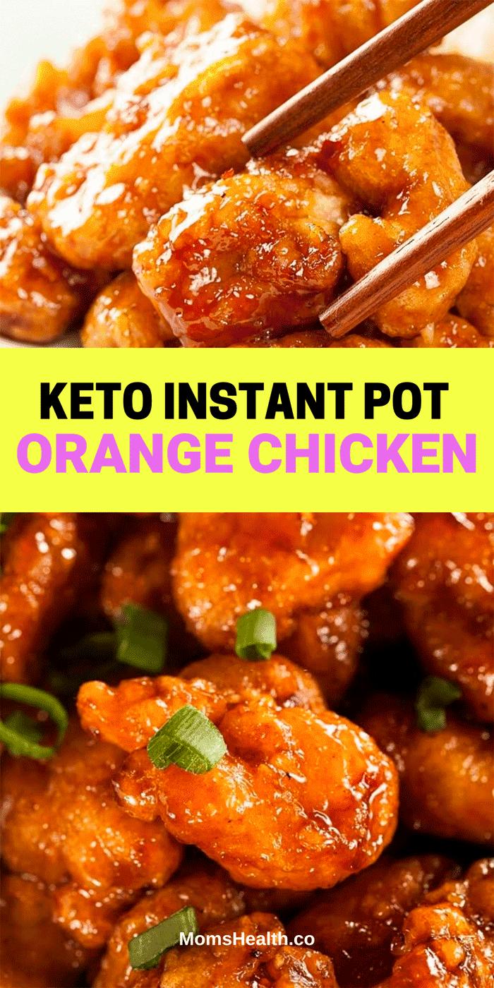 Keto Instant Pot Orange Chicken