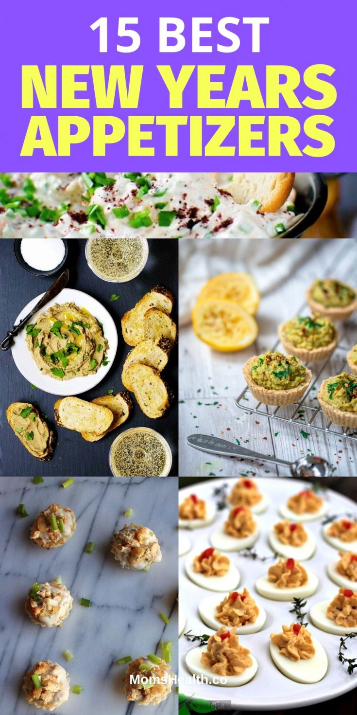 New Year Appetizers - 15 Best New Year's Eve Finger Foods