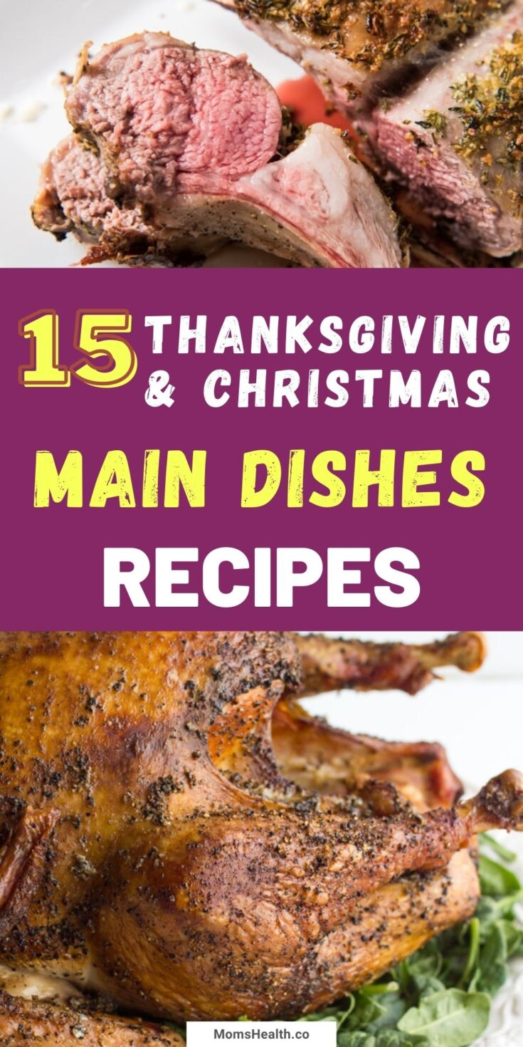 Thanksgiving and Christmas Main Dishes - Best Recipes for Holidays