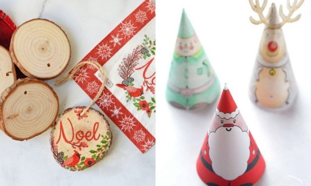 15 Quick Christmas Crafts for Kids and Adults