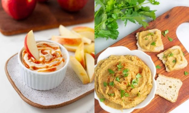 Raw Vegan Dips Recipes and Sauces for a Holiday Dinner