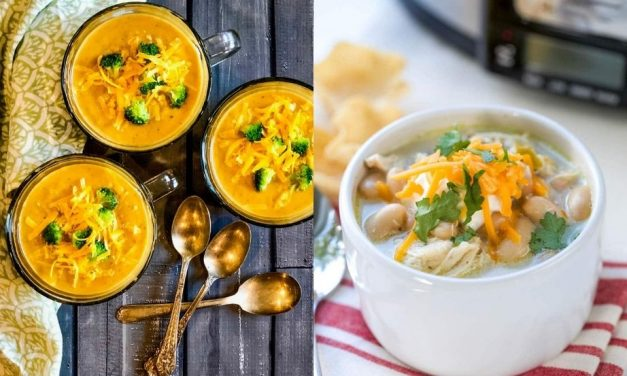 15 Healthy Crockpot Soup Recipes – Tasty Slow Cooker Soups
