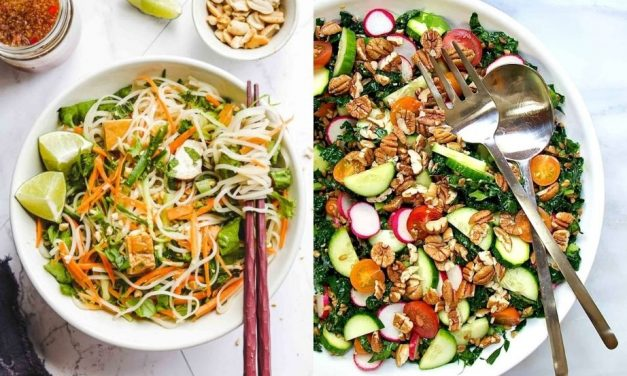 Cold Vegan Lunch Recipes to Pack For Work Or School