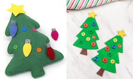 Christmas Tree Crafts for Toddlers to Do with Adults