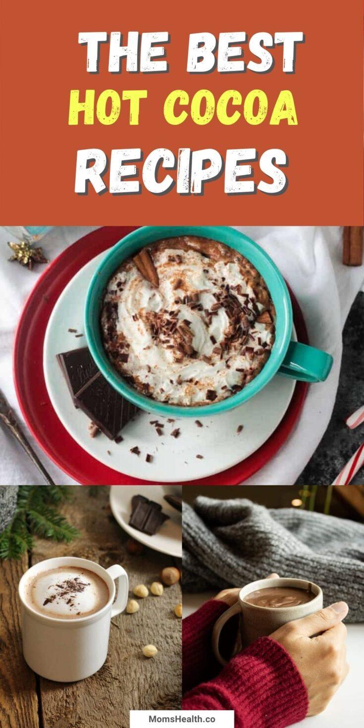 15 Best Hot Cocoa Recipes - Homemade Cocoa Power Recipes