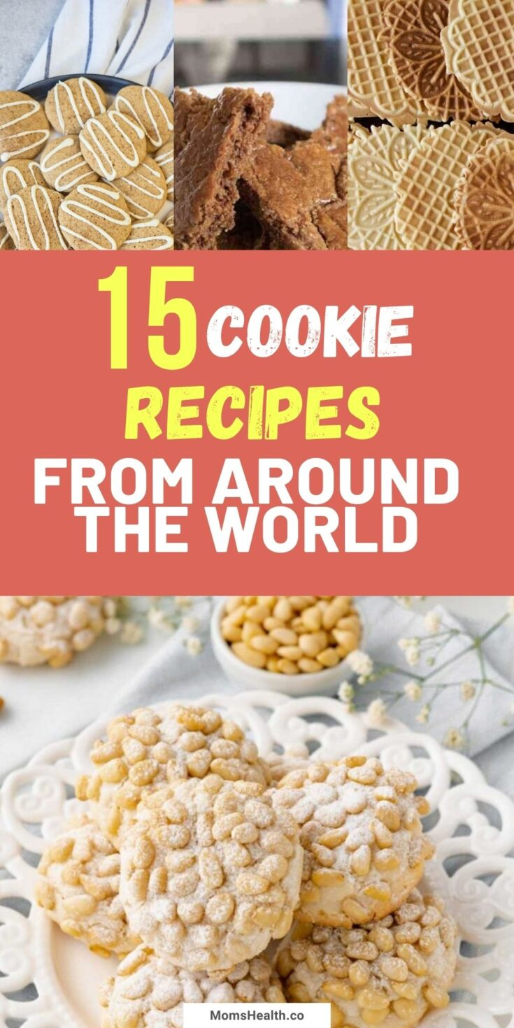 Authentic Cookie Recipes From Around The World