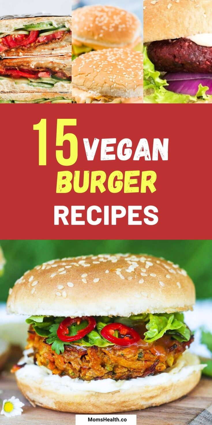 15 Easy Vegan Sandwich and Burger Recipes | Plant-based Burgers