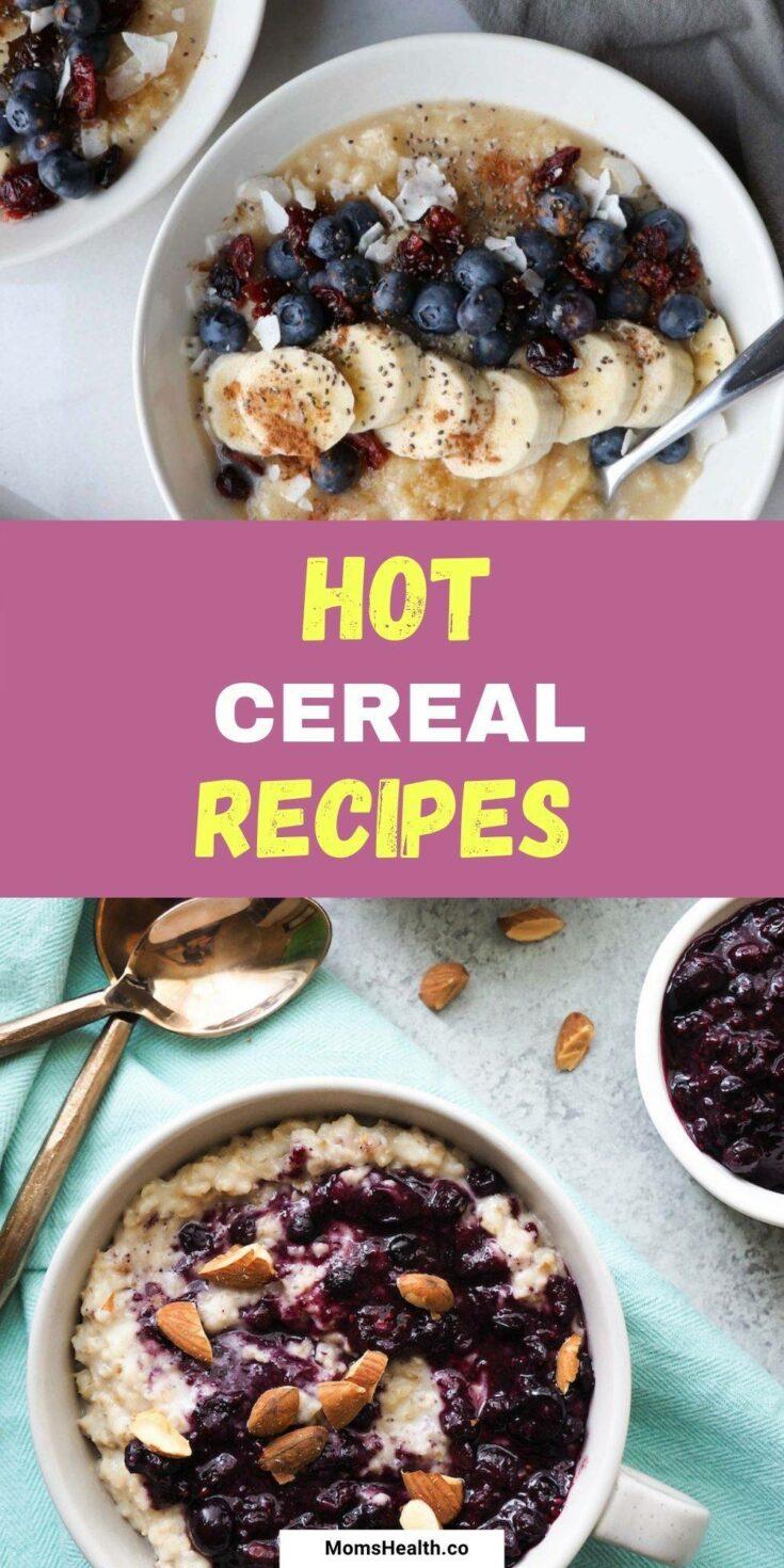 15 Delicious Hot Cereal Recipes   Breakfast Ideas