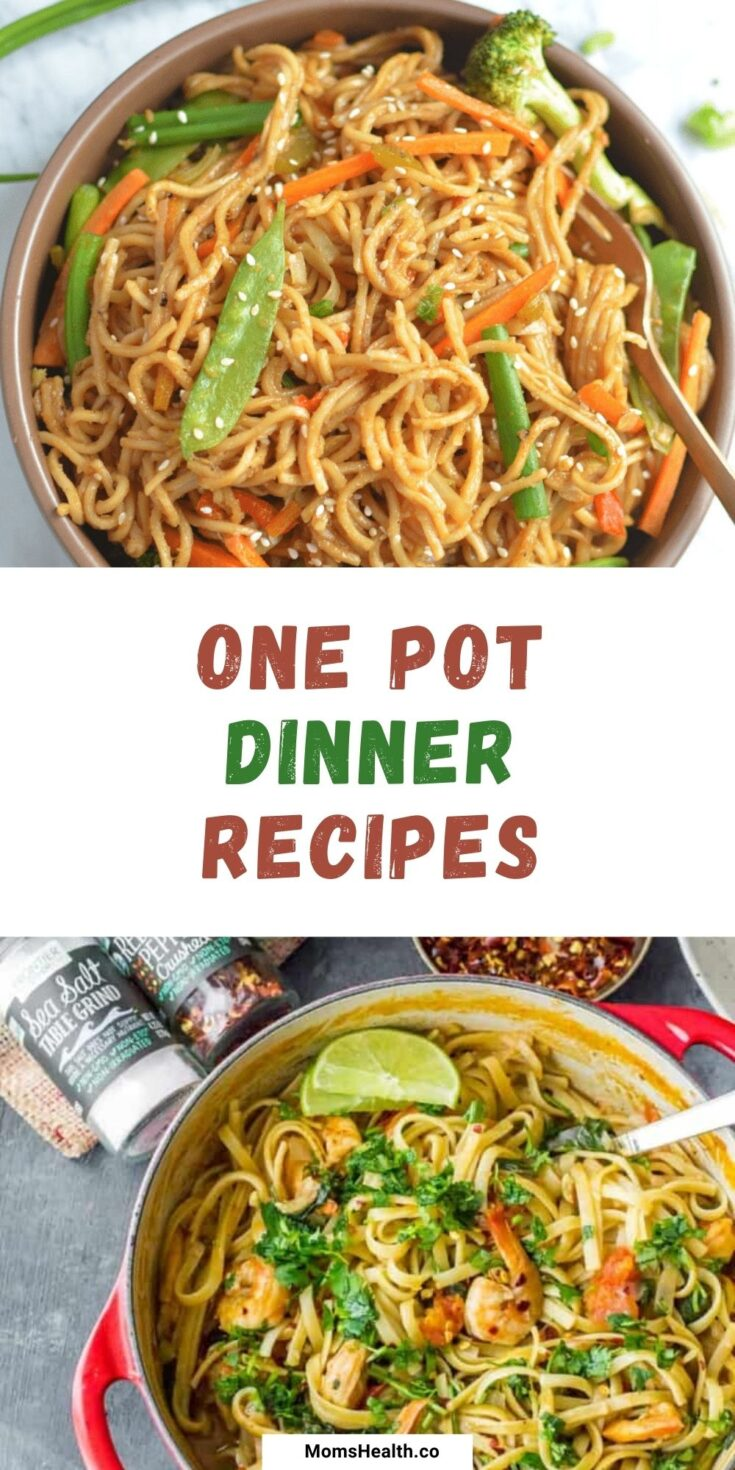 15 Delicious and Simple One Pot Dinner Ideas