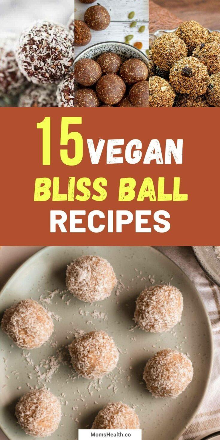 15 Tasty Vegan Bliss Ball Recipes   Easy Vegan Treats