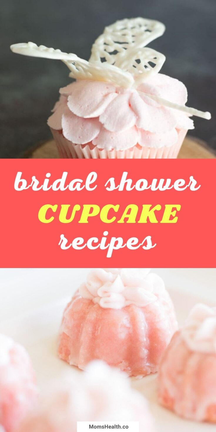 15 Stunning Cupcakes For A Bridal Shower   Wedding Recipes