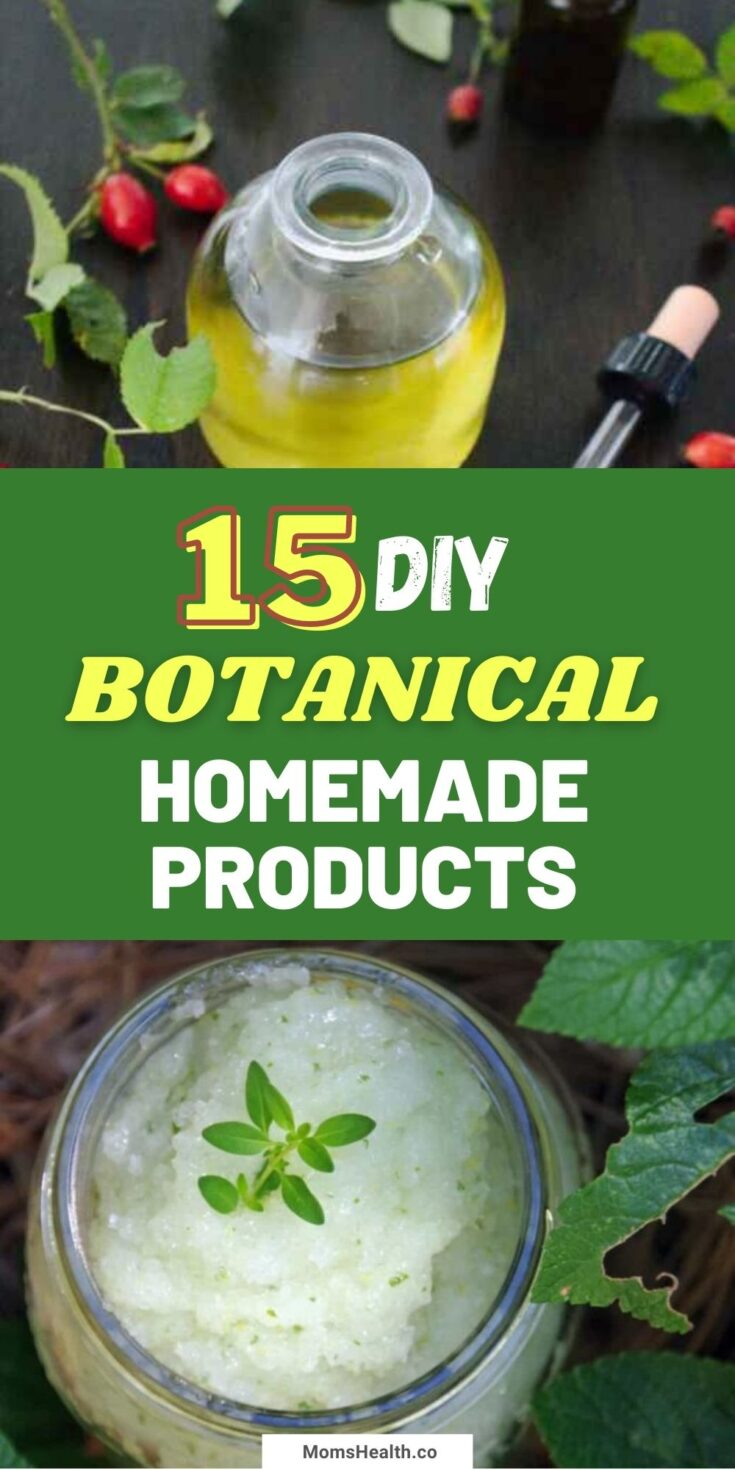 15 DIY Garden Botanicals And Homemade Products