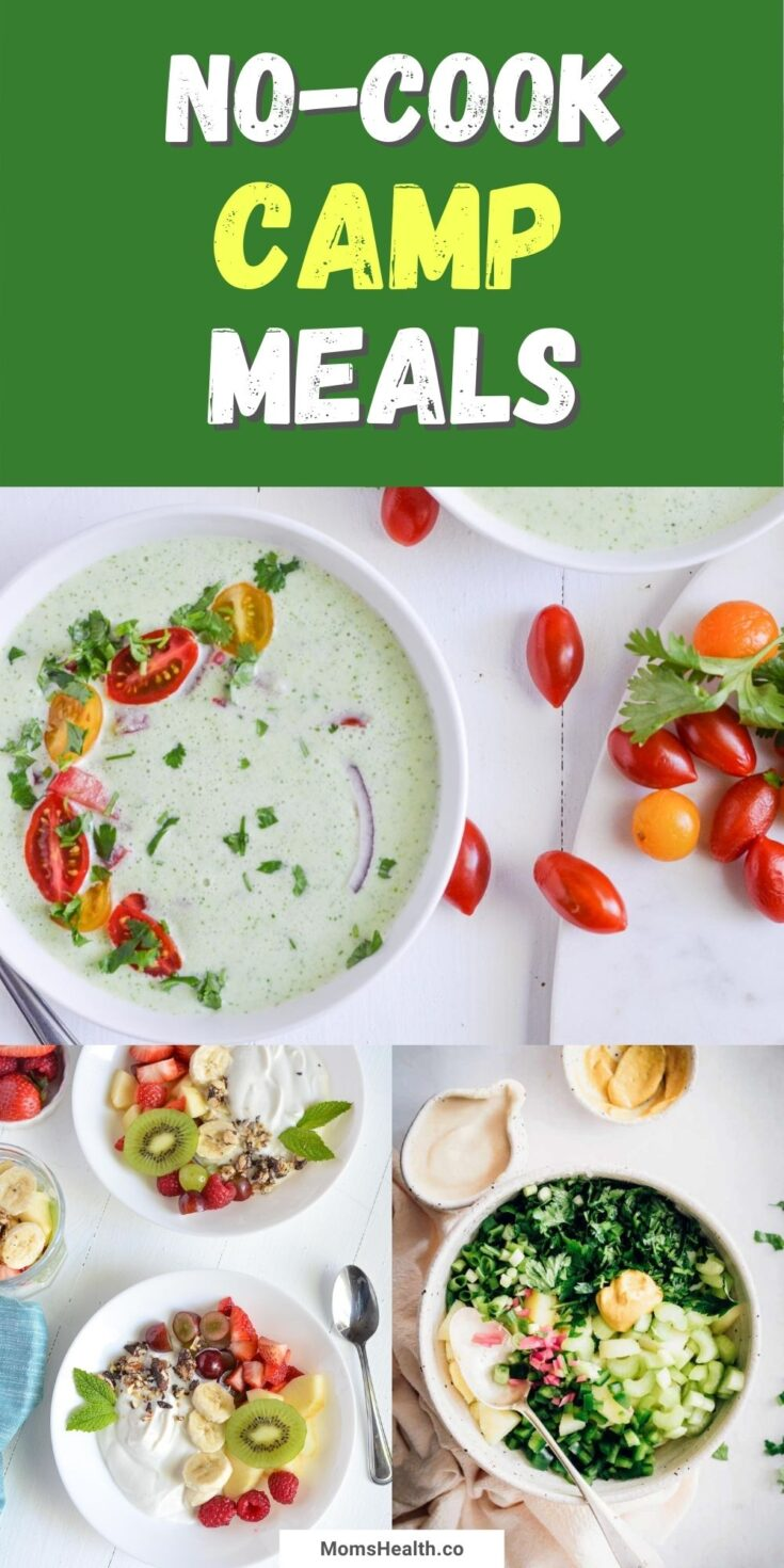 15 No-Cook Camp Meals for Families