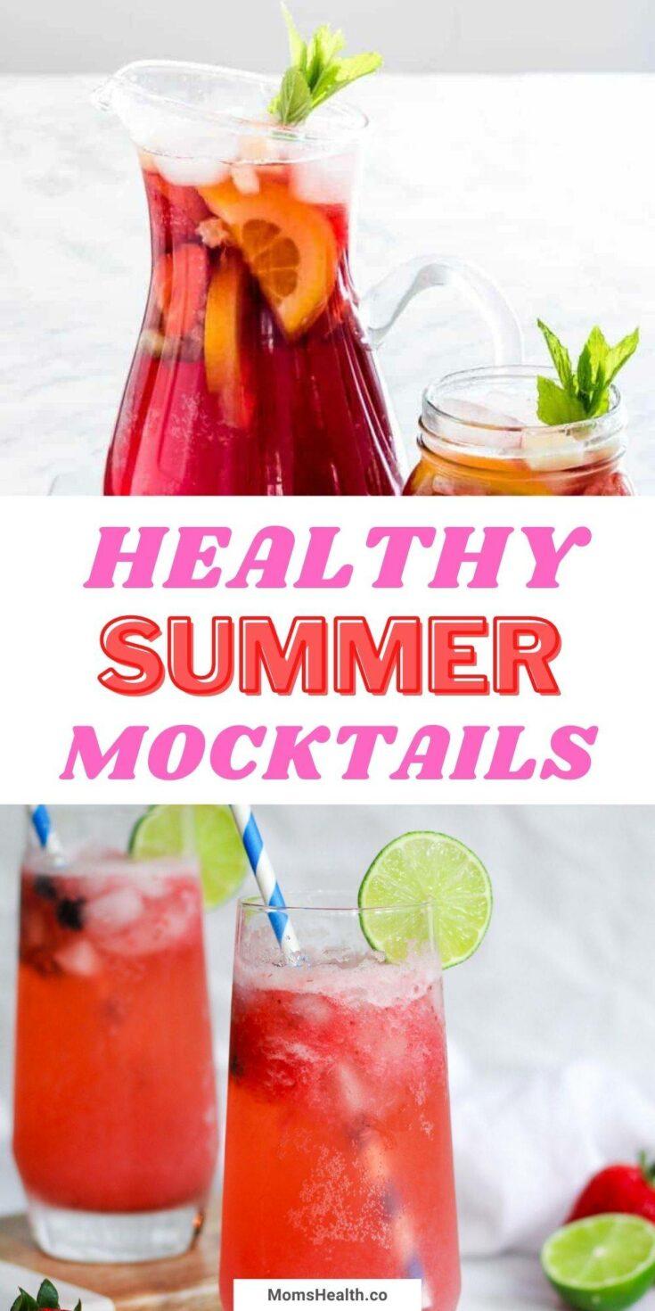 15 Healthy Summer Mocktails | Refreshing Summer Drinks