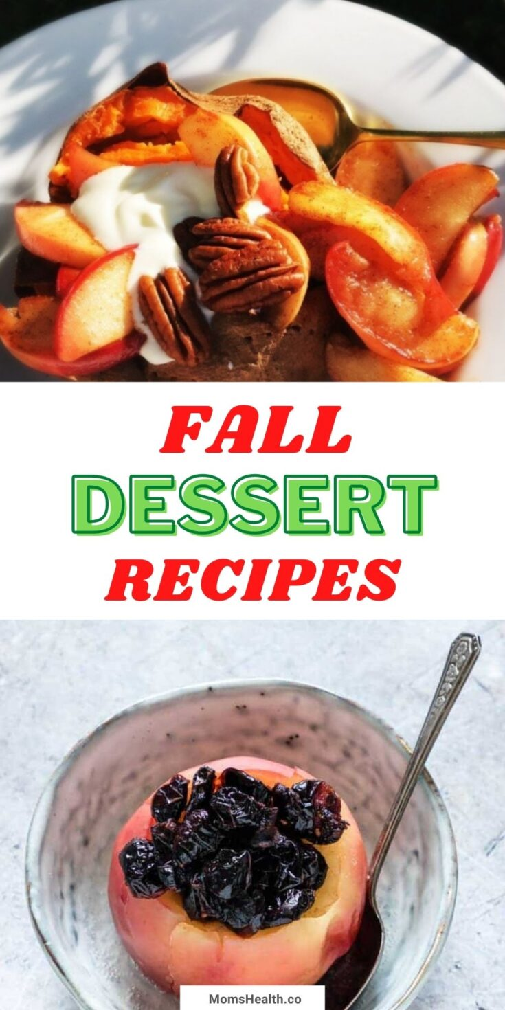 15 Delicious Fall Dessert Recipes   Healthy Fall Desserts
