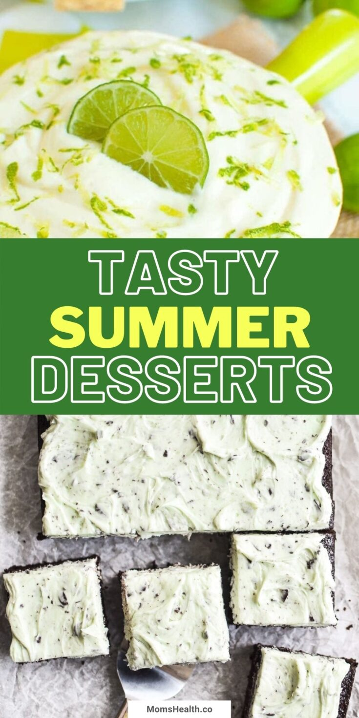 15 Tasty Summer Dessert Recipes