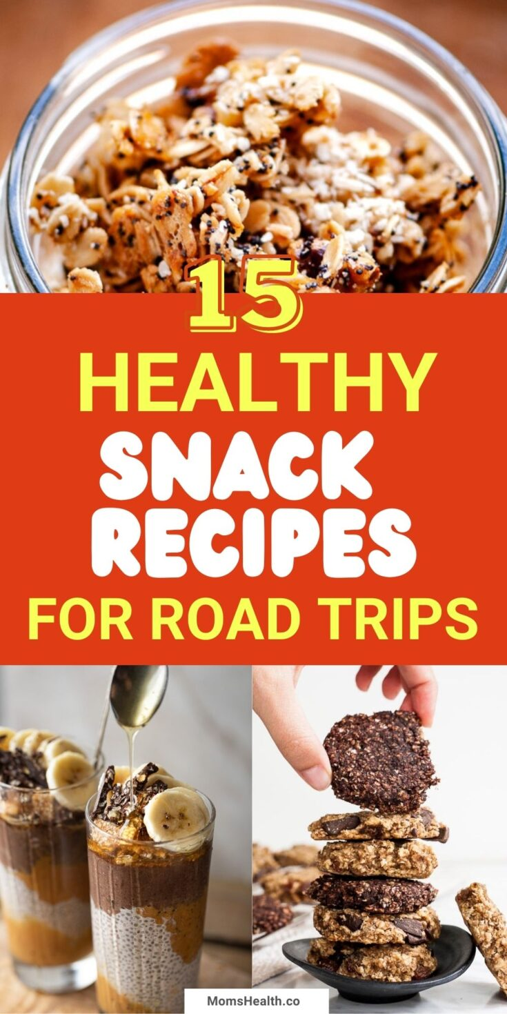 15 Healthy Snack Recipes For Road Trips And Outdoor Activities