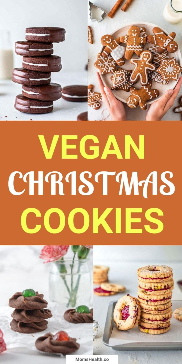 15 Healthy and Chewy Vegan Christmas Cookie Recipes